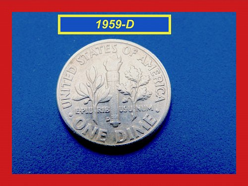 1959-D Roosevelt Dime  ✬  CIRCULATED Condition   ✬   (#3556a)➧