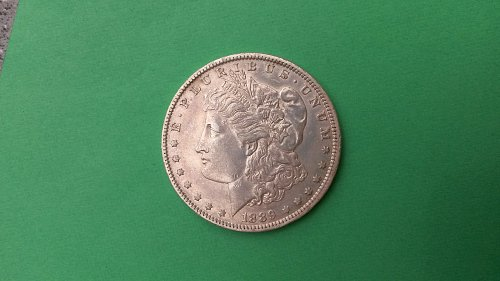 1889-O AU VAM2 MORGAN DOLLAR