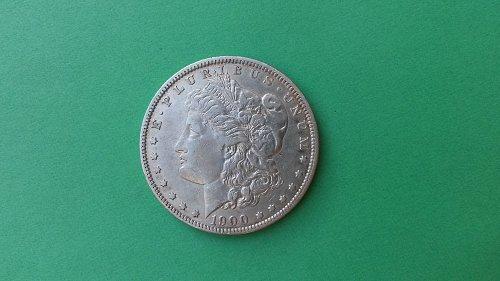 1900-O/CC  MORGAN DOLLAR VAM8A