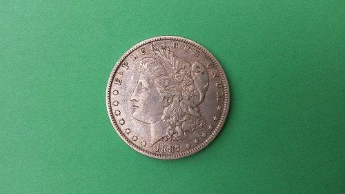 1887 O MORGAN DOLLAR