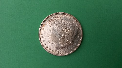 "1921 D VAM1N2 UNICORN D MORGAN DOLLAR ""RARE"""