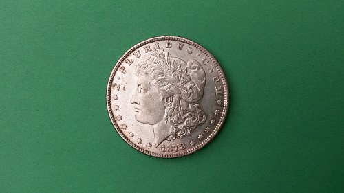 1878 7/8TF 7/4 VAR VAM33  MORGAN DOLLAR BU+