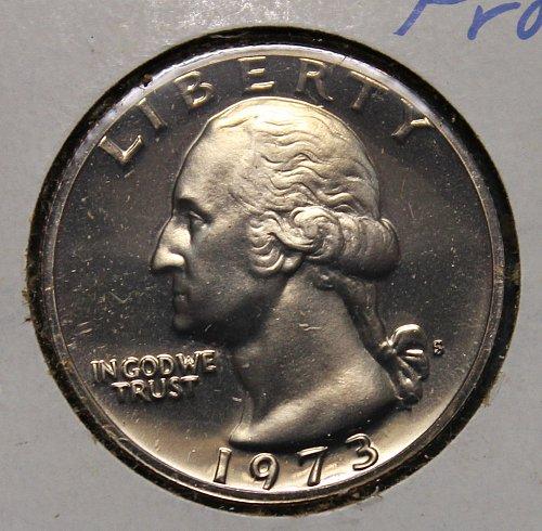 1973 S Washington Quarter