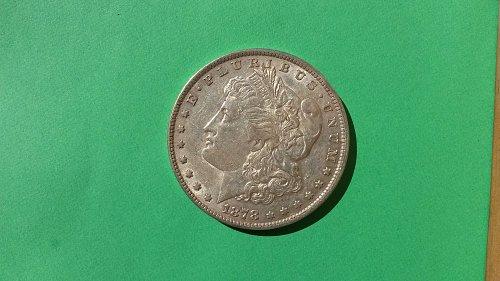 1878 7TF REV79 MORGAN DOLLAR