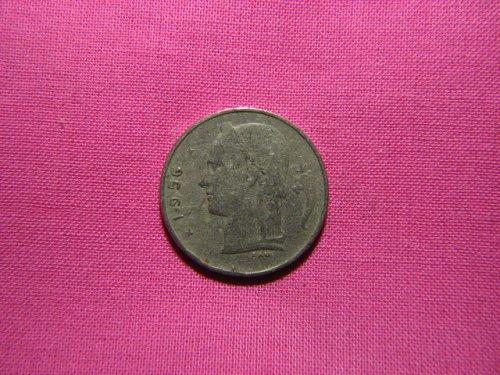 1956 Belgium 1 franc (Dutch)