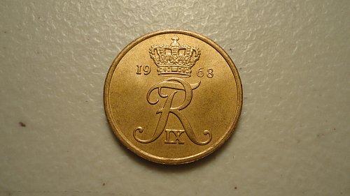 1968 DENMARK 5 ORE