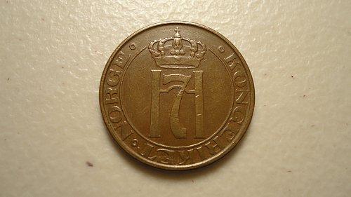 NORWAY 1951 5 ORE