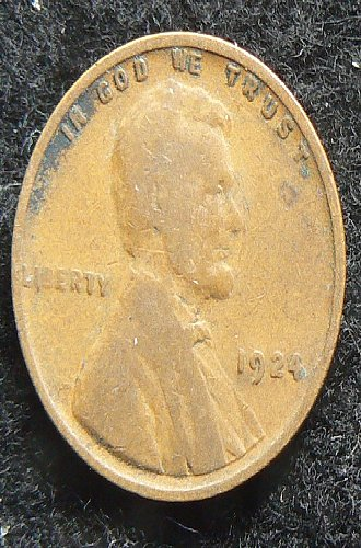 1924 P Lincoln Wheat Cent (VG-8)
