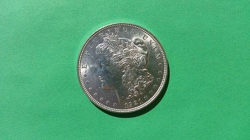 1921-P MORGAN DOLLAR CH/BU