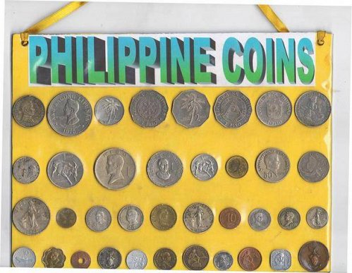 Lot of 37 Pcs. Old Philippine Coins - CIRCULATED