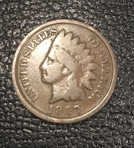 1897 Indian Head cent