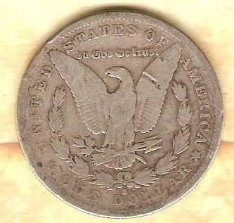 1883 S Morgan Silver Dollar