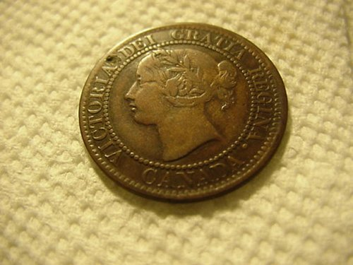 1859 canada large cent...nice