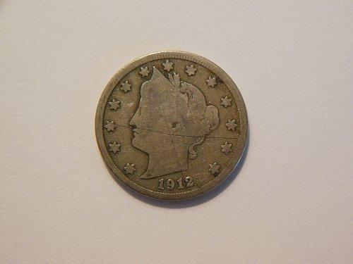 1912-D Liberty V Nickel