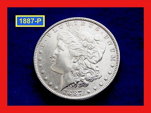 "1887-P Morgan Silver Dollar ★  Grades ""XF-45""  ★ (#5390)a"