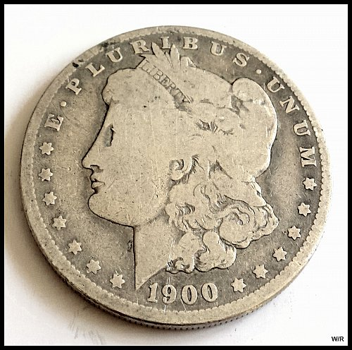 1900 O Morgan Dollar: Early Silver Dollar