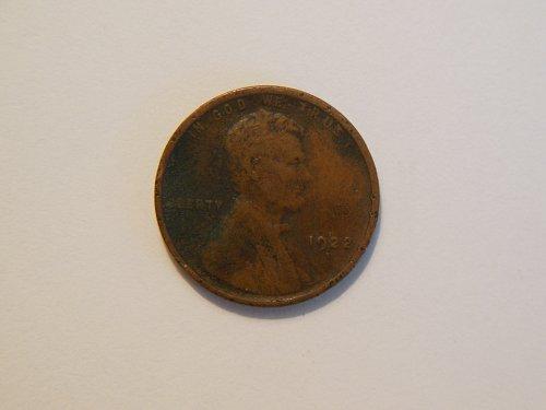 1922-D Lincoln Wheat Cent, *Weak D Mint Mark*