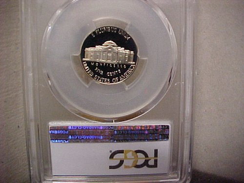 1993S 5C Jefferson Nickel PCGS PR69 DCam #455