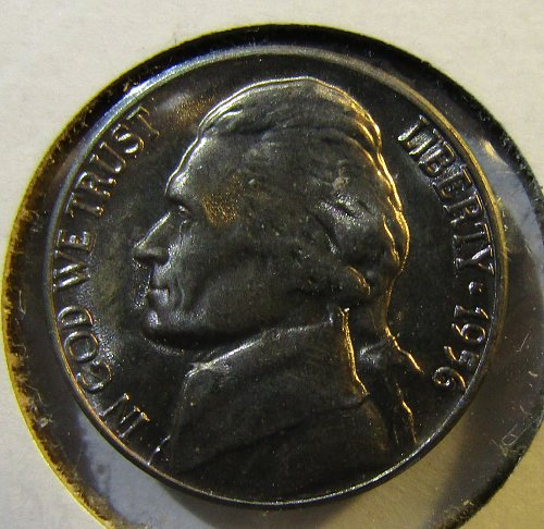 1956-D Jefferson Nickel GEM w/m steps