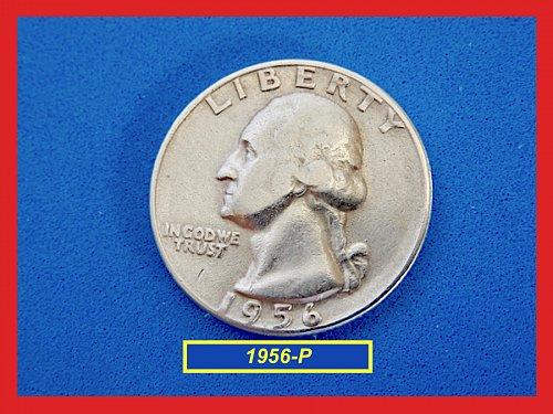 1956-P Washington Quarters ✬ XF ✬ (#2740)a