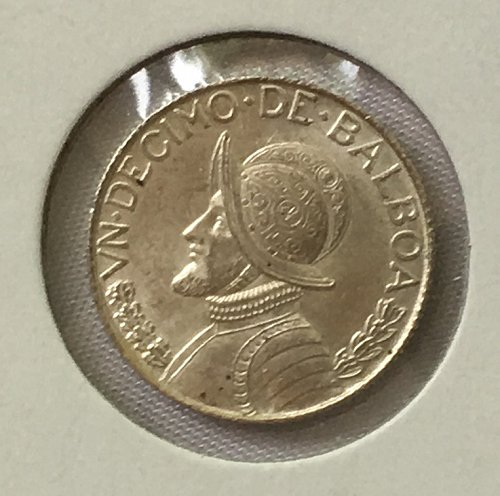 1962 Panama 1/10 Balboa .900 Silver