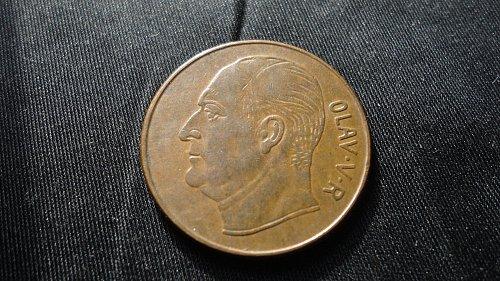NORWAY 1960 5 ORE