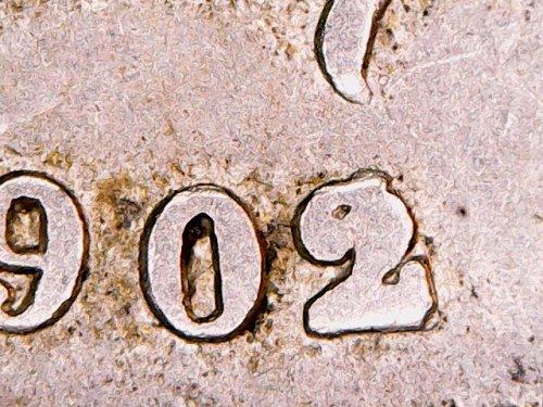 BELGIUM 1902/1 10 CENTIMES-FRENCH