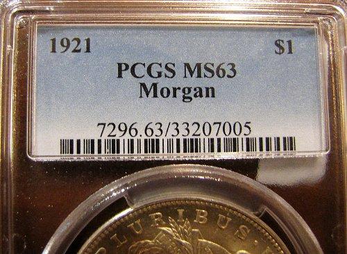 1921-P Morgan Dollar - Bright and Beautiful 2