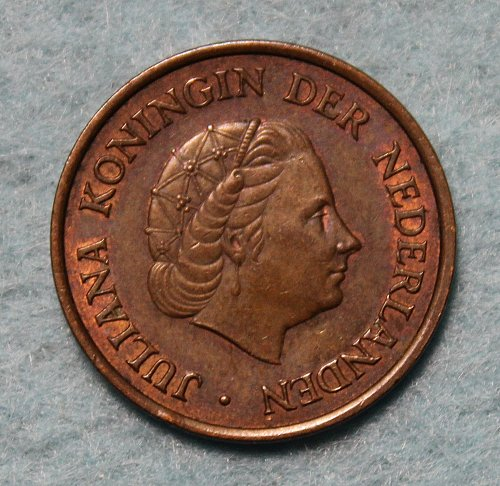 Netherlands 1960 5 cents