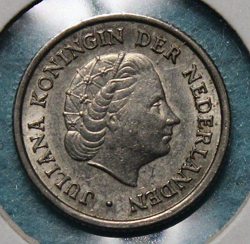 Netherlands 1951 10 cents