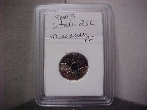 2003 S Washington State Quarter Proof Missouri
