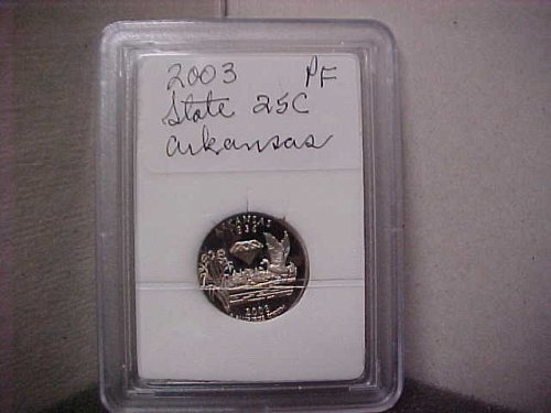 2003 S Washington State Quarter Proof Arkansas