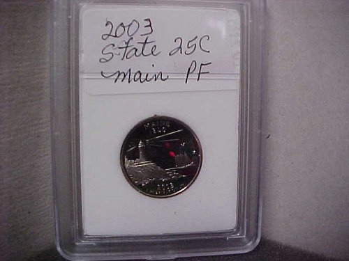 2003 S Washington State Quarter Proof Main