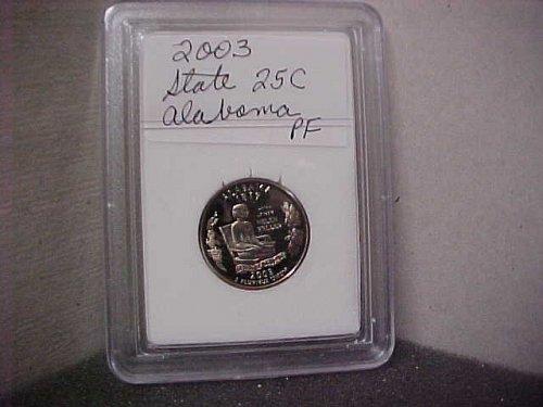 2003 S Washington State Quarter Proof Alabama