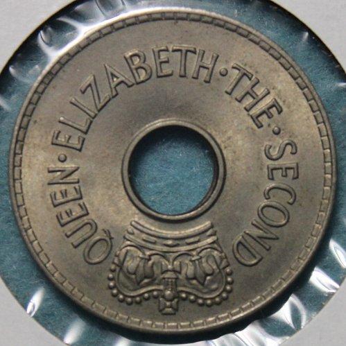 Fiji 1956 1 penny