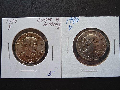 1980 S.B. Anthony Dollars