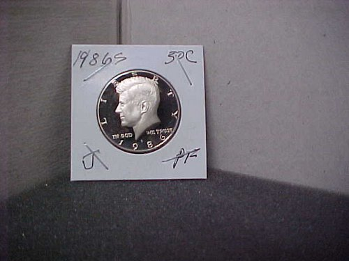 1986 S John F. Kennedy Half Dollar  Proof UC