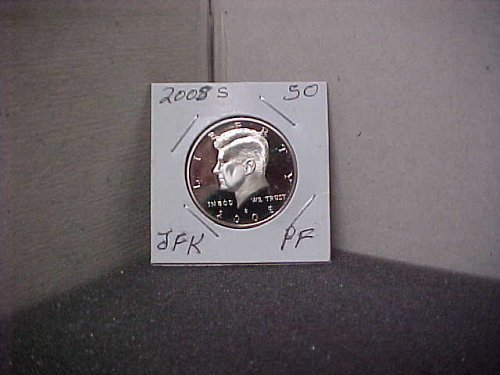 2008 S John F. Kennedy Half Dollar  Proof UC