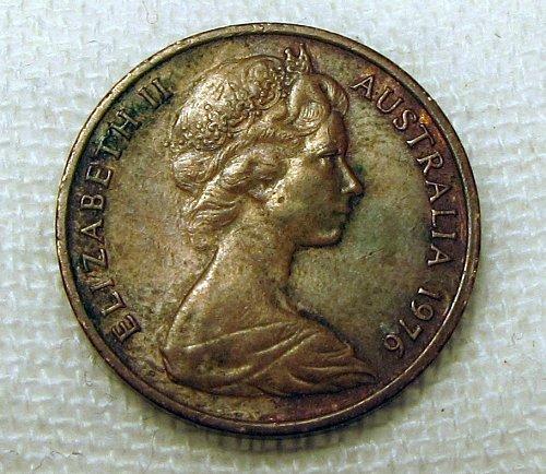 Australia 1976 1 Cent KM62 C0034