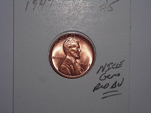 1947 b/u penny