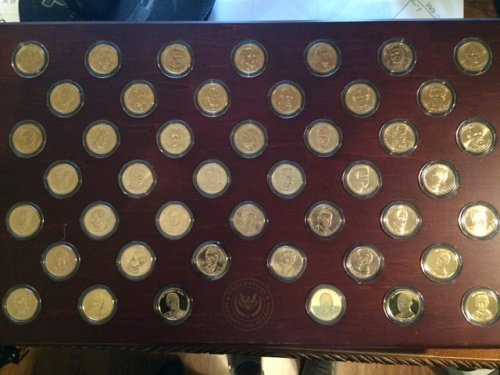 United States Presidential Dollars/Medals (507 uncirculated coins & 6 medals)