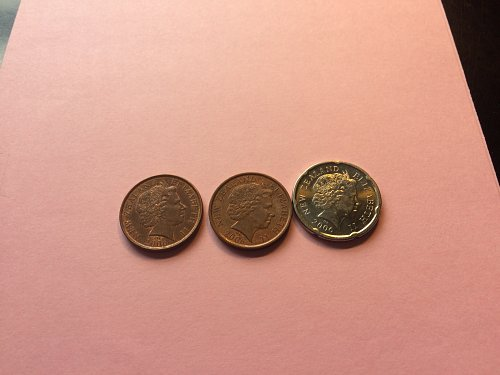 3 NEW ZEALAND COINS