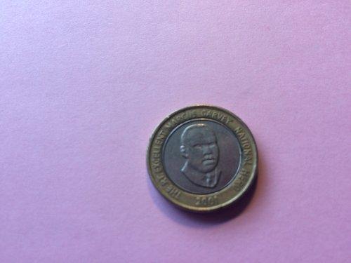 2001 JAMAICA $20.00 COIN
