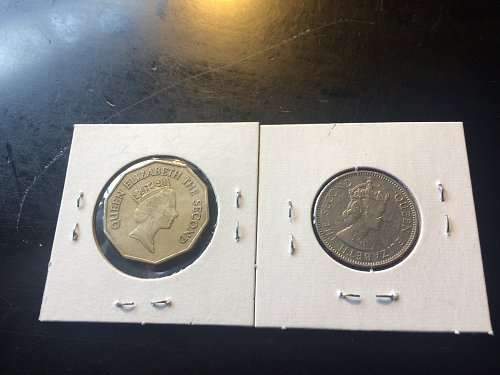 2003 25 CENT & 2003 $1.00 BELIZE COINS