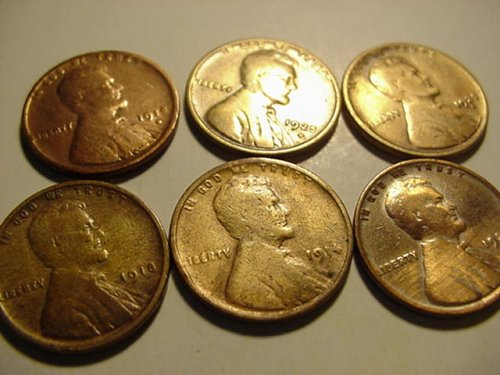 6-early wheats cleaned 1914,18,18d,24,25d,25s