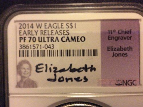 2014 W American Silver Eagle