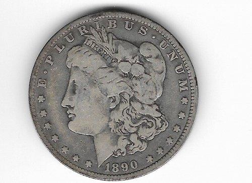 1888 O Morgan Silver Dollar Tilted O  Variety