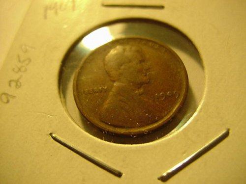 2-pennys 1909 nd 1909vdb