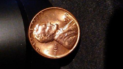 1959-d bu error penny