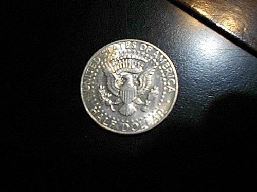 1964-d Kennedy Half Dollar   UNC   90% Silver